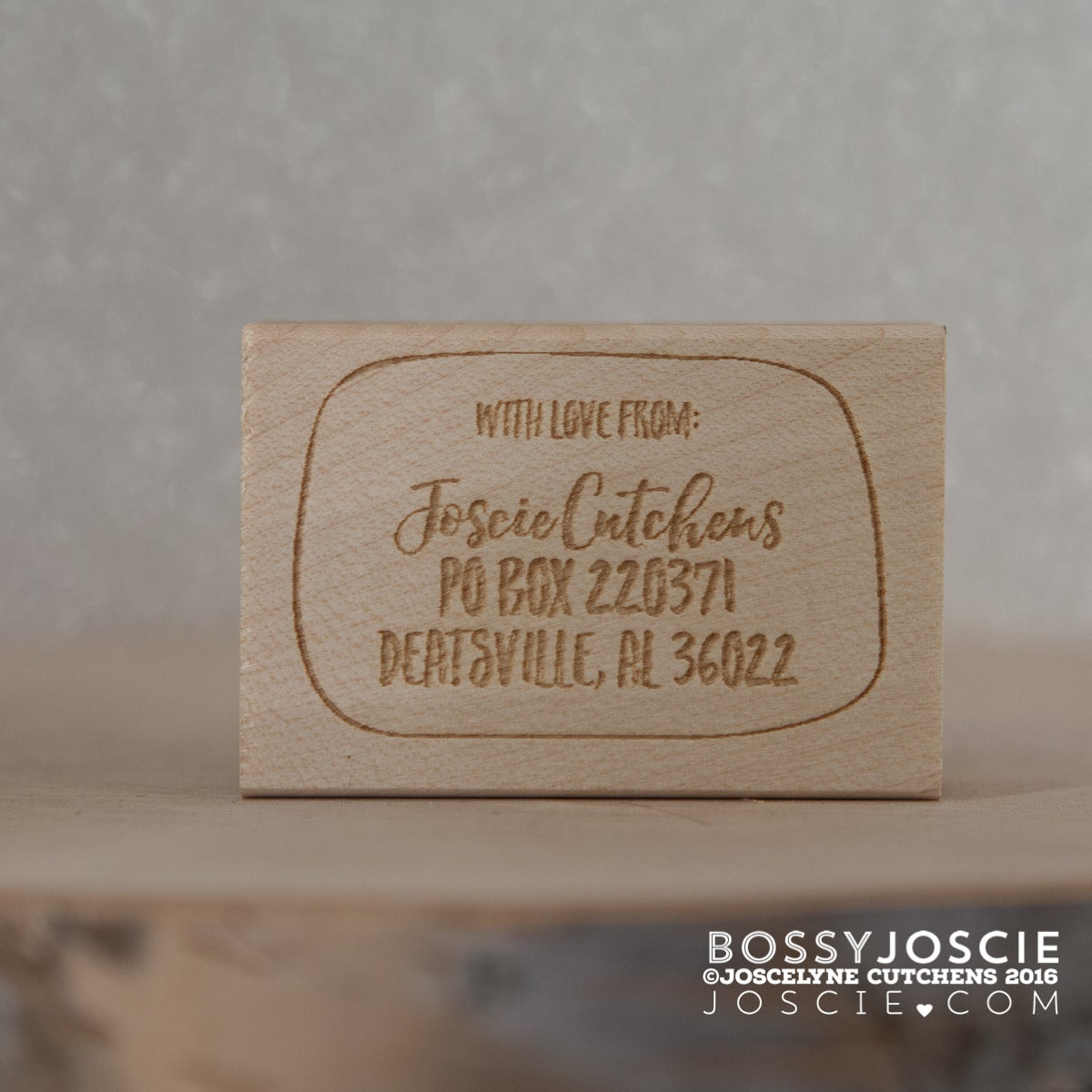 Image of Personalized With Love Return Address