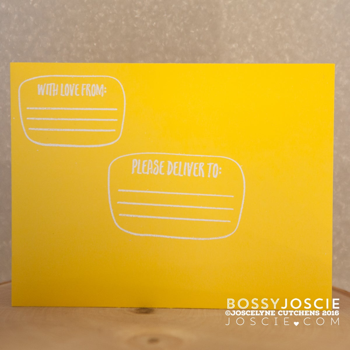 Image of With Love Return Address Stamp