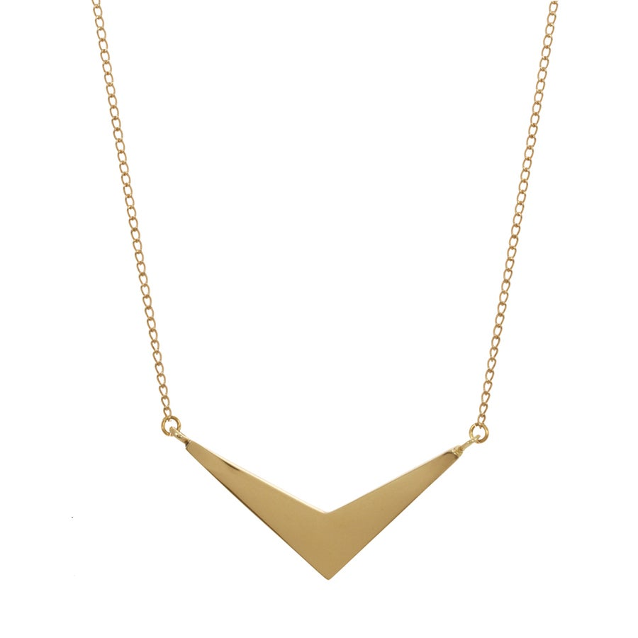 Image of CHEVRON necklace