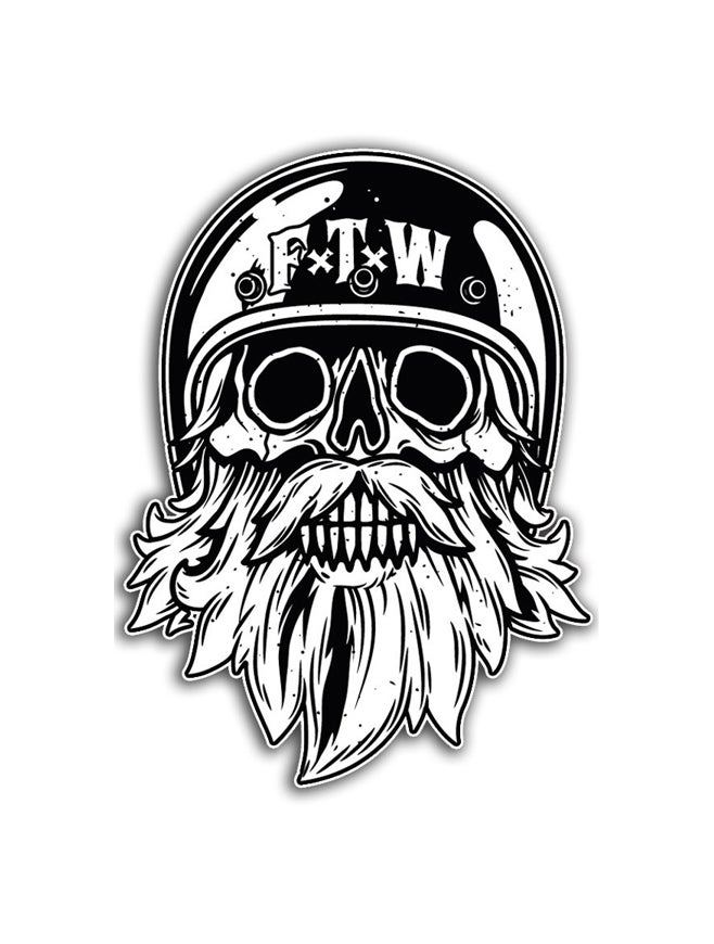 """Image of Patch """"FTW Skull"""" Small"""