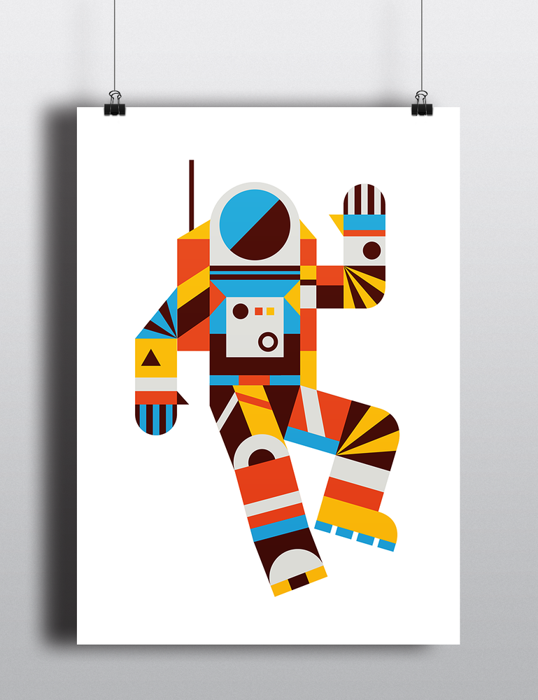 Image of Hello Spaceman Poster