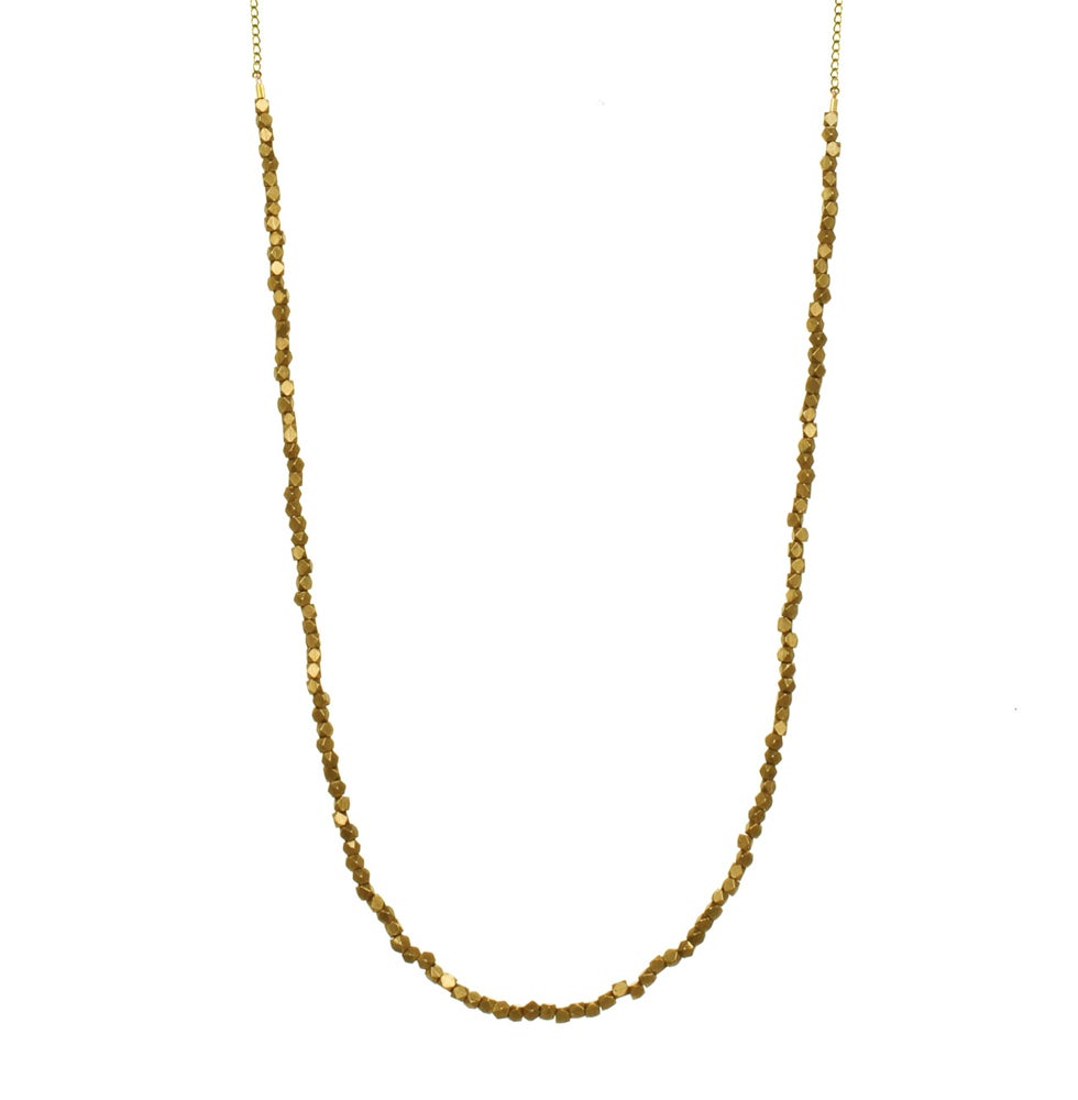 Image of BRASS BEADED CHAIN