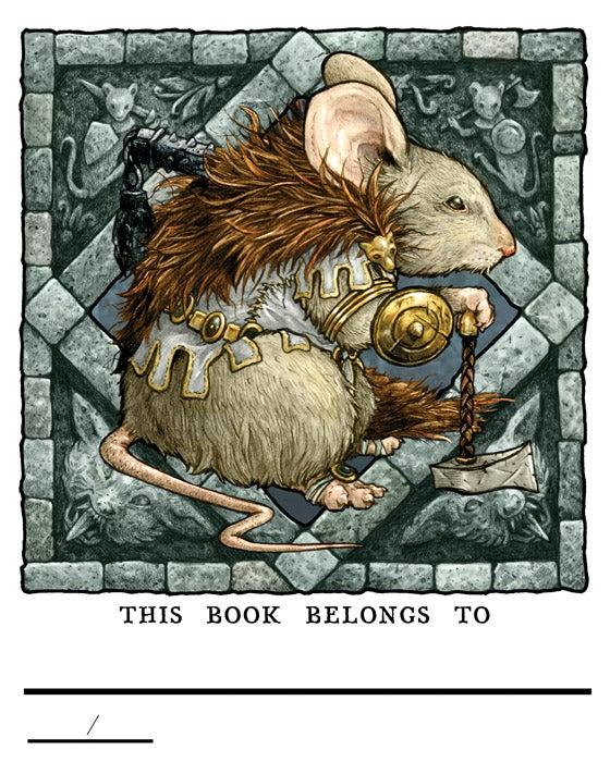 Image of Mouse Guard 2016 Bookplate