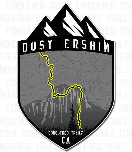 """Image of """"Dusy Ershim"""" Trail Badge"""