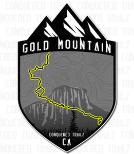 """Image of """"Gold Mountain"""" Trail Badge"""