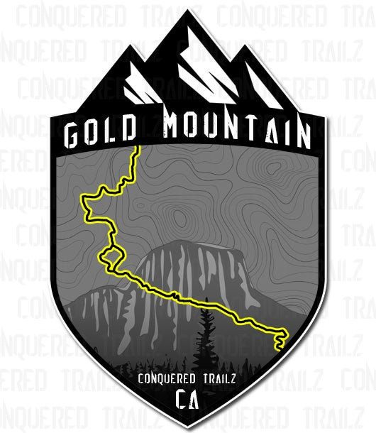 "Image of ""Gold Mountain"" Trail Badge"