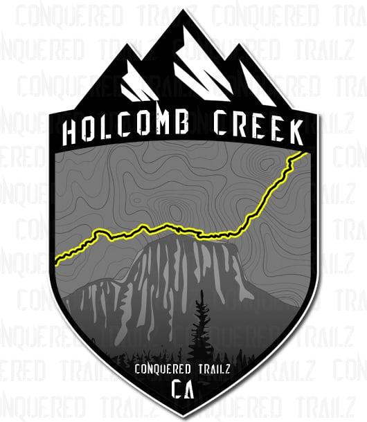 "Image of ""Holcomb Creek"" Trail Badge"