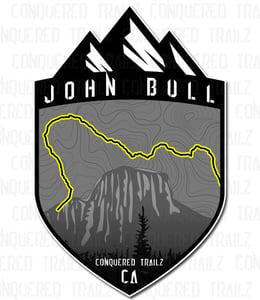 "Image of ""John Bull"" Trail Badge"