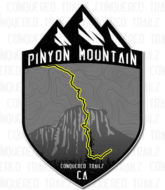 "Image of ""Pinyon Mountain"" Trail Badge"