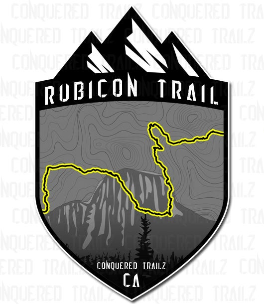 "Image of ""Rubicon Trail"" Badge"