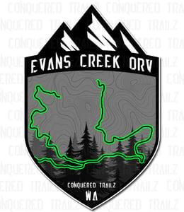 """Image of """"Evans Creek ORV"""" Badge"""
