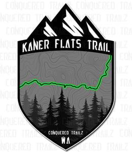 "Image of ""Kaner Flats"" Trail Badge"