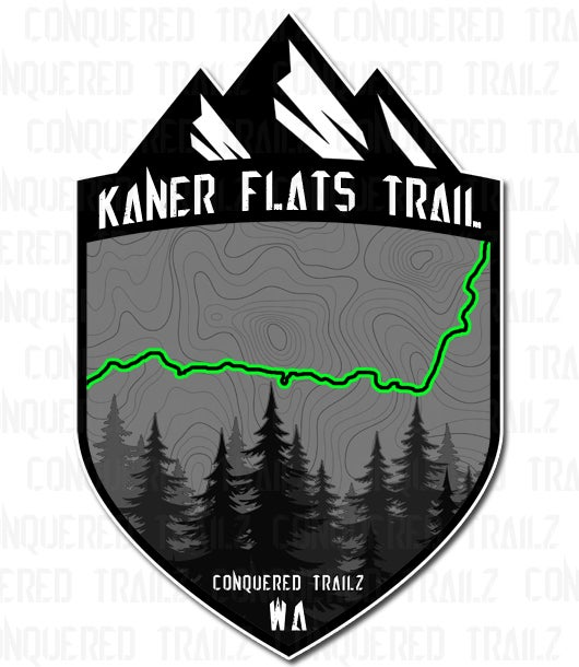 "Image of ""Kaner Flats"" Trail Badge"