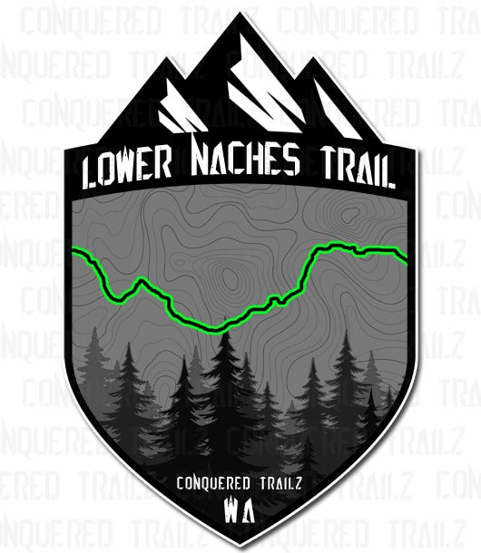 """Image of """"Lower Naches"""" Trail Badge"""