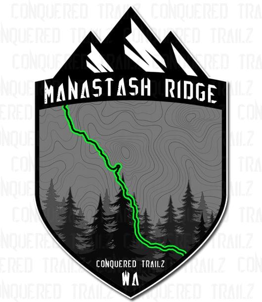 "Image of ""Manastash Ridge"" Trail Badge"