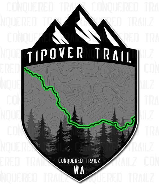 "Image of ""Tipover"" Trail Badge"