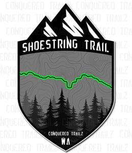 "Image of ""Shoestring"" Trail Badge"