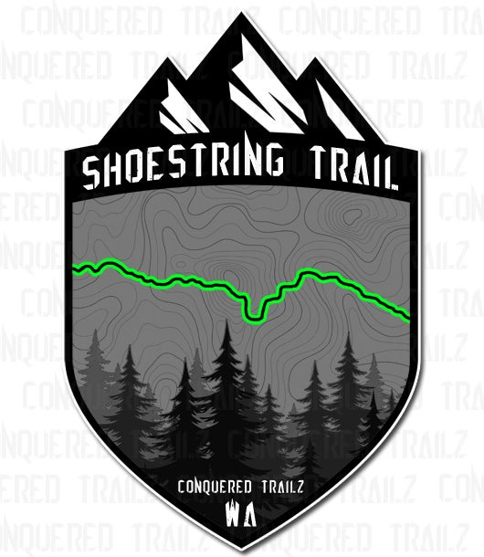 "Image of ""Shoestring"" Trail Badge"