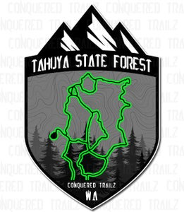 """Image of """"Tahuya State Forest"""" Badge"""