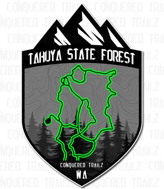 "Image of ""Tahuya State Forest"" Badge"