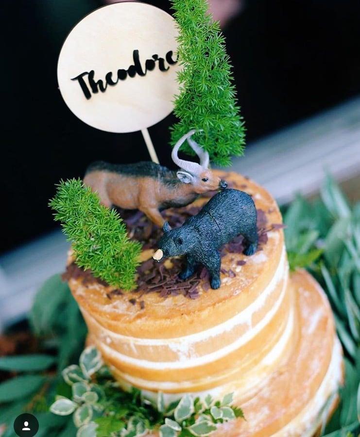 Image of POLKA CAKE TOPPER