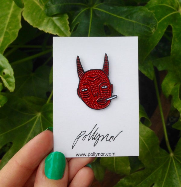 Image of Devil Pin - By Polly Nor