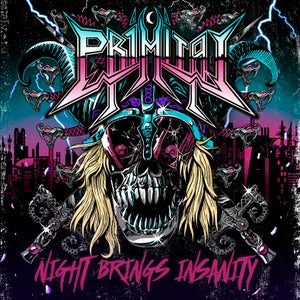 Image of Night Brings Insanity (2016) CD Jewel Case