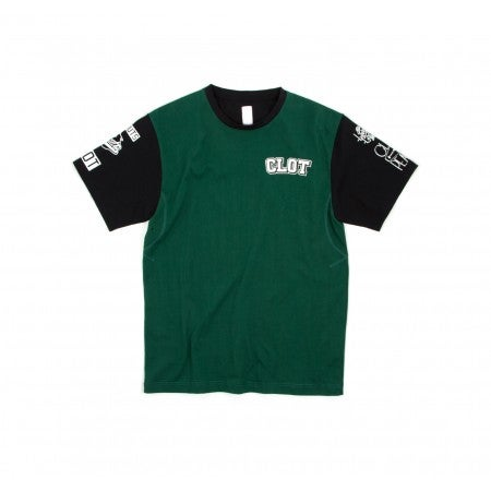 Image of CLOT x Peanut - Two Tone SS Tee (Green)