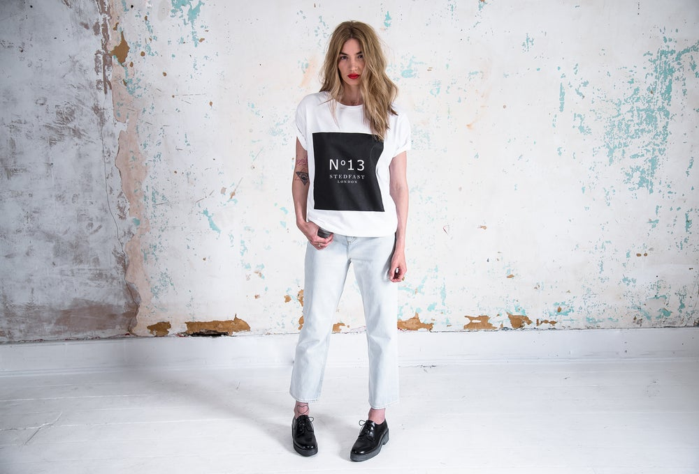 Image of №13 white T-Shirt