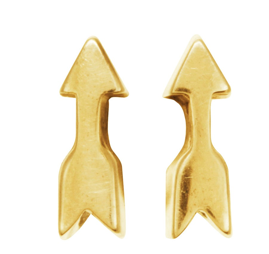 Image of ARROW stud earring