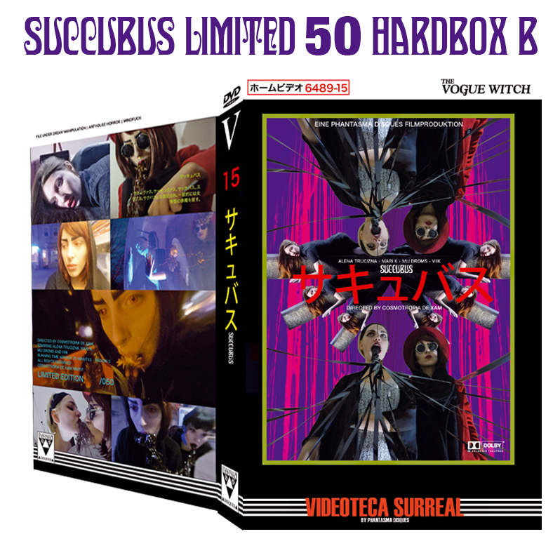 Image of SUCCUBUS - DVD HARDBOX (DESIGN B)
