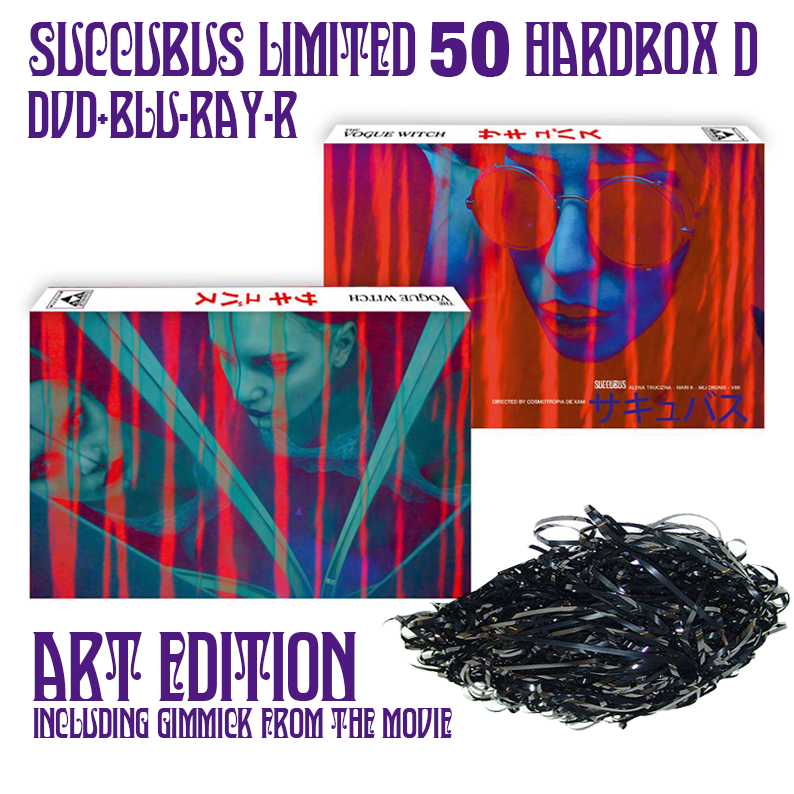 Image of SUCCUBUS - DVD+BLU-RAY-R HARDBOX (DESIGN D, ART EDITION) W/ GIMMICK