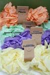 Spring Bundle #1 Primrose and Lavender, Crinkle Ribbon