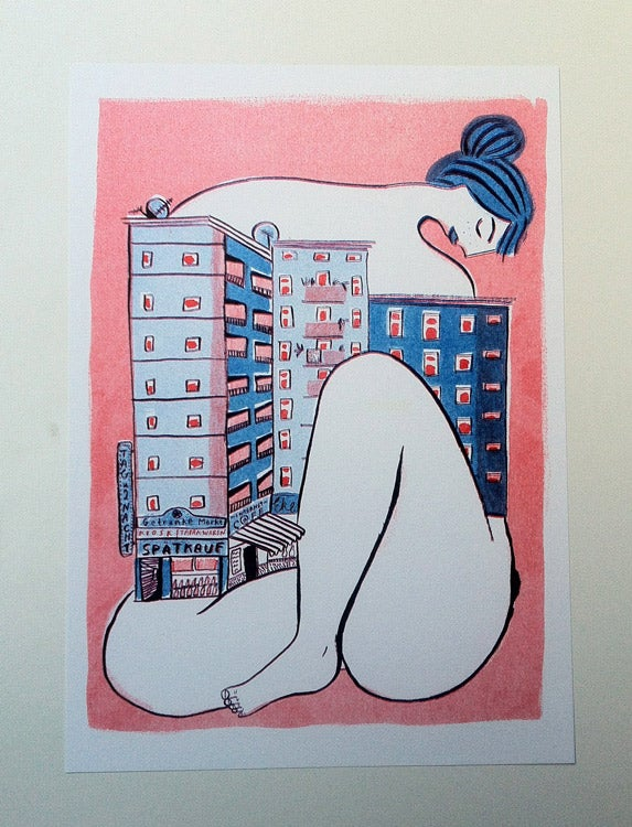 Image of Hausfrau riso print