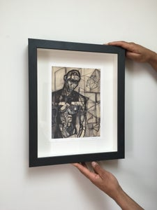 Image of HIM - EMBELLISHED PRINT