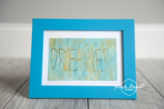 "Image of ""Dreamer"" Original Artwork - Framed"