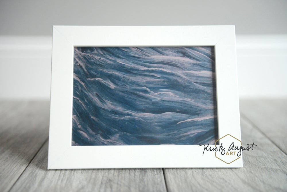 """Image of """"Many Waters"""" Framed Print"""