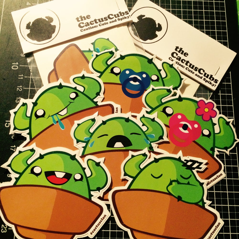 Image of CactusCubs Sticker Pack