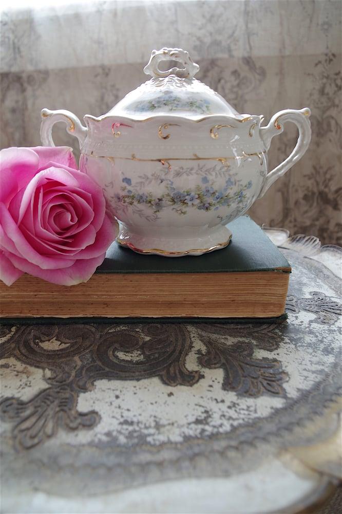 Image of Fleurs Porcelaine