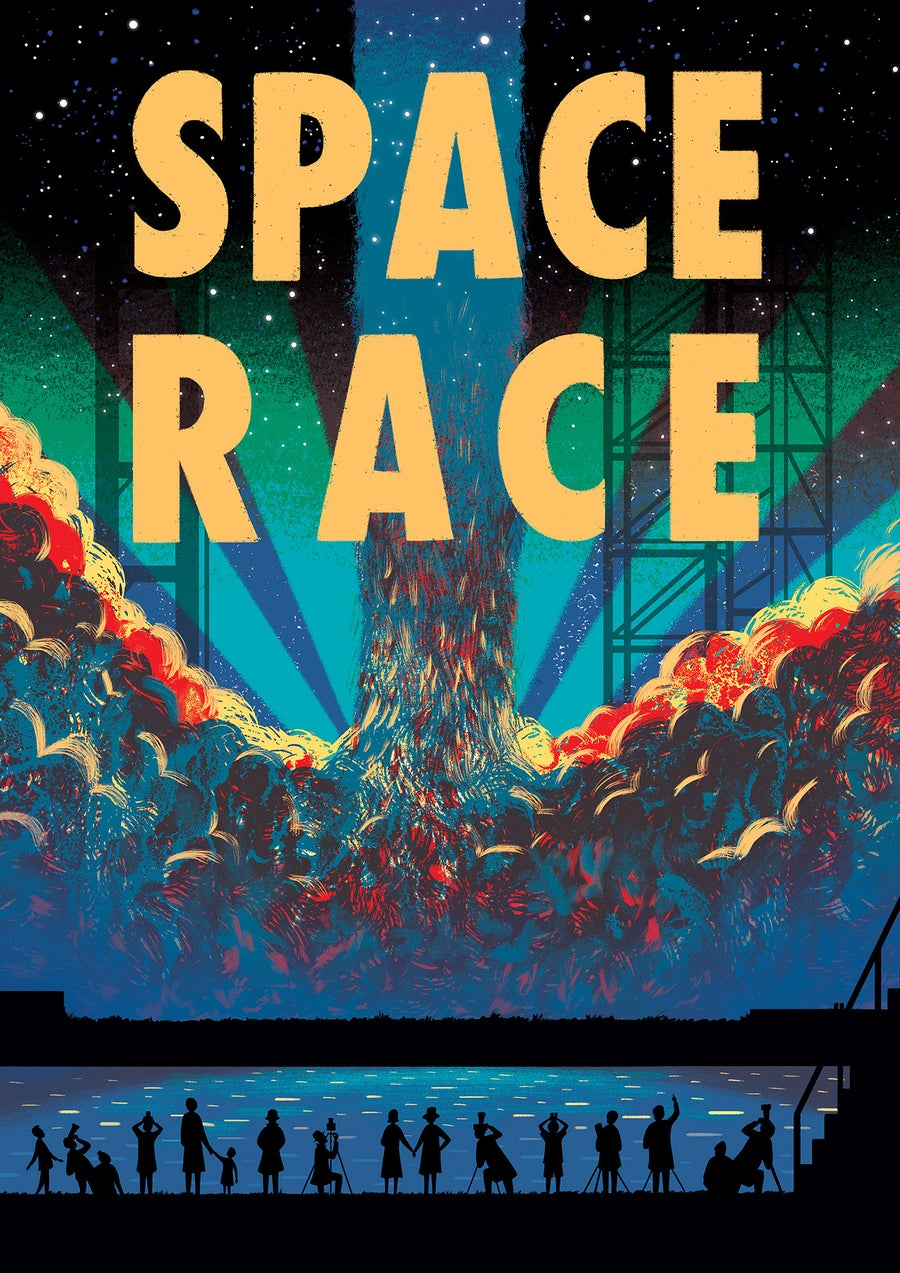 Image of Space Race Cover..........ONLY 16 LEFT!