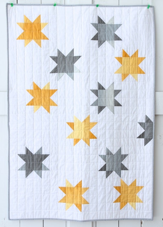 Image of Ombre Sunshine Baby Quilt