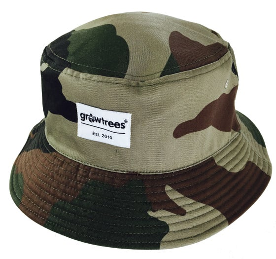 Image of Grow Trees Bucket Hat with Label