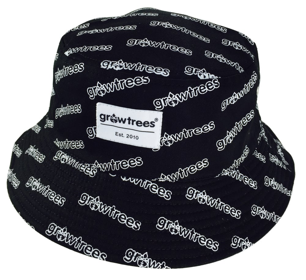 Image of Grow Trees Bucket Hat with Print