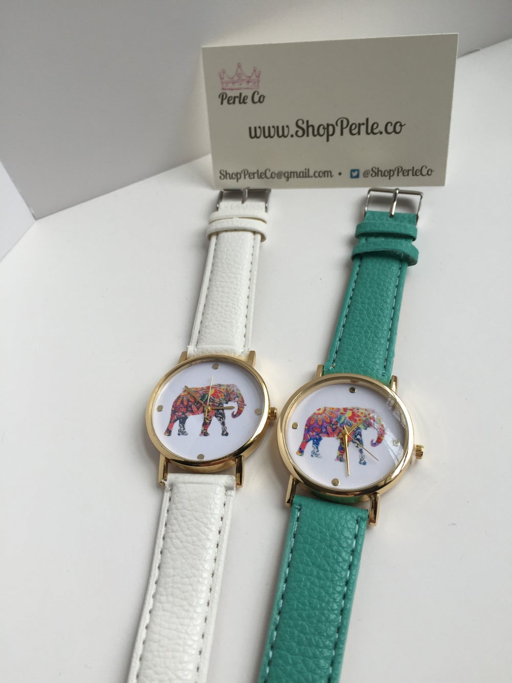 Image of Elegant Elephant Watch