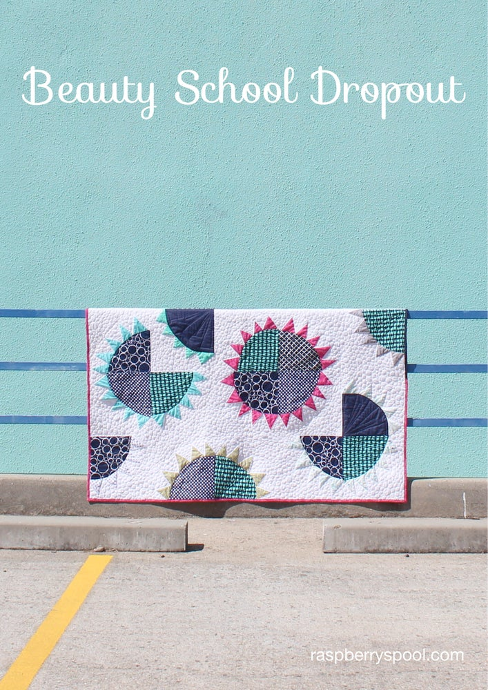 Image of Beauty School Dropout quilt pattern