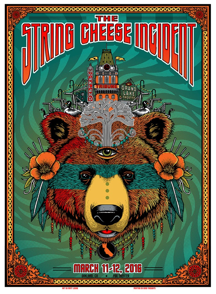 Image of STRING CHEESE INCIDENT @ Oakland (CA) - Mar 2016