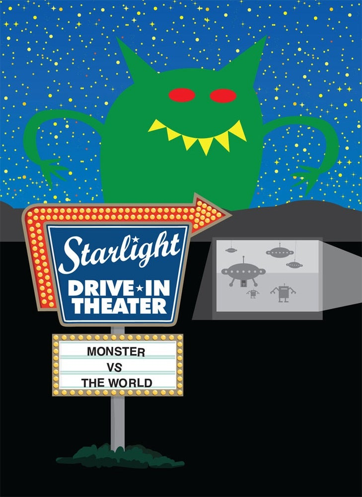 Monster VS. The World Print Collection #1
