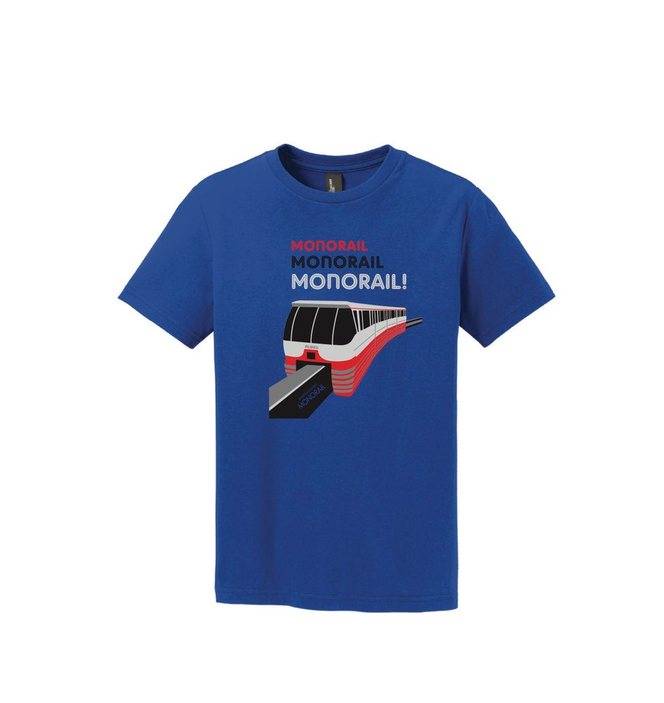 Image of Monorail! Youth Shirt