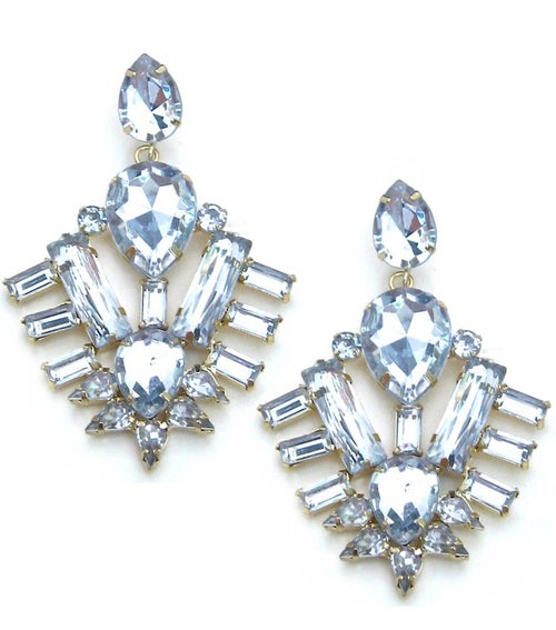 Image of Crystal Chandelier Earrings (More Colors)