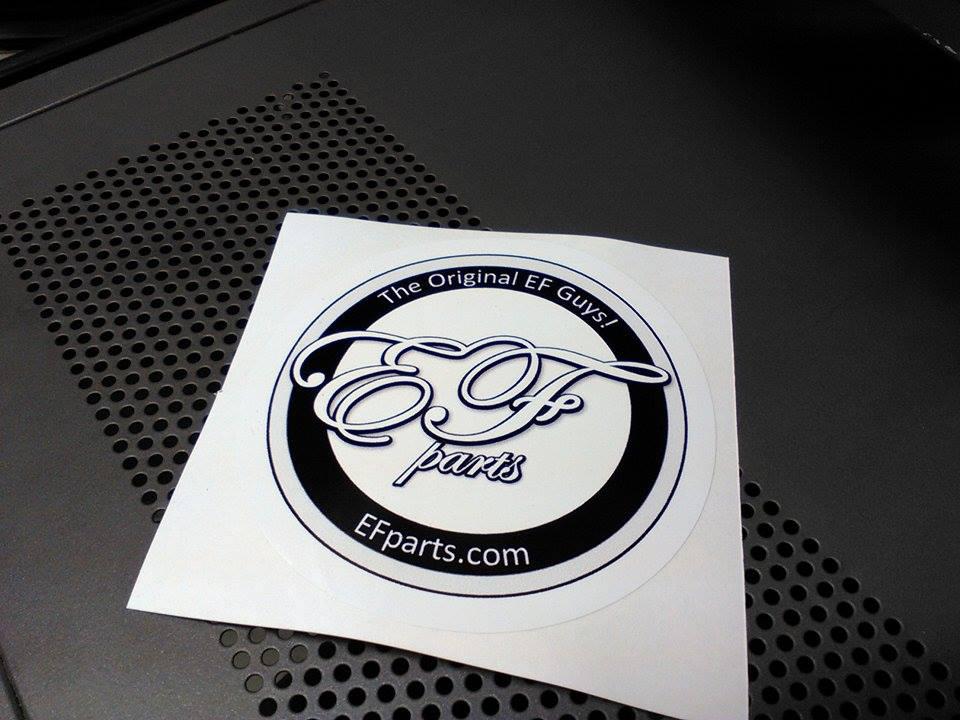 Image of The Original EF Guys Sticker/Decal
